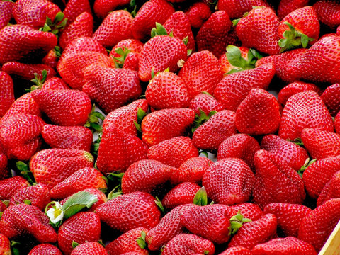 Strawberries are one of the healthiest berries