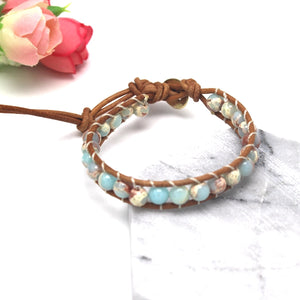 Bracelet Natural Stone Adjustable