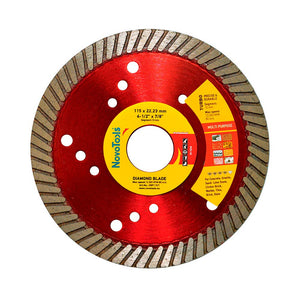 NOVOTOOLS Extreme Turbo Diamond Blade 115 x 22.2 mm - Novotools
