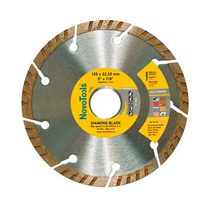 NOVOTOOLS Diamond Blade 125 x 22.2mm Turbo - Novotools