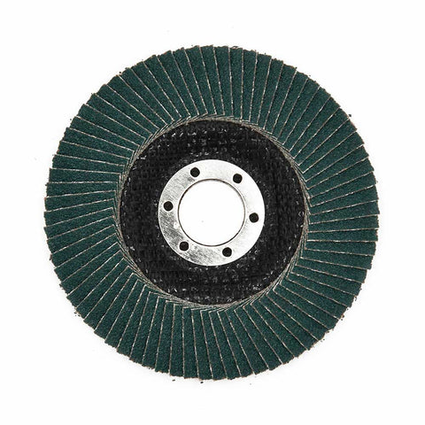 NOVOABRASIVE Zirconia Flap Disc 115mm Grit 120 - pack of 10 pcs - Novotools