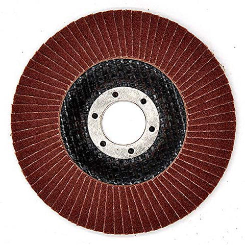NOVOABRASIVE Flap Disc 115mm Grit 120 - pack 10 pcs - Novotools