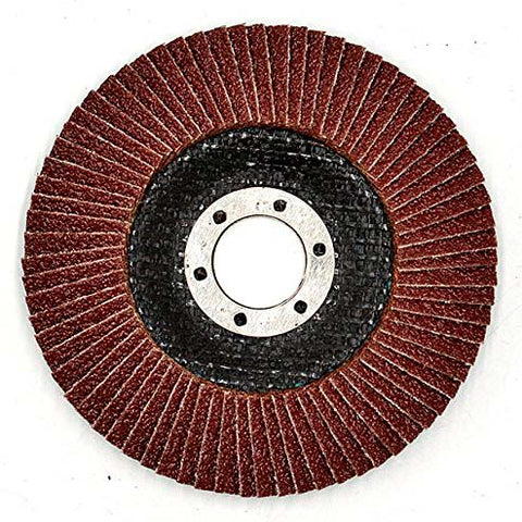 Image of NOVOABRASIVE Flap Disc 115mm Grit 40 - pack 10 pcs - Novotools