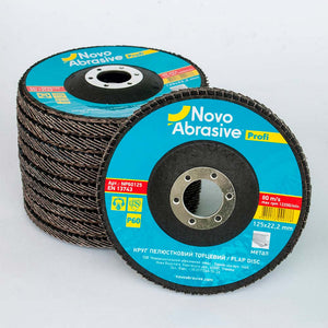 NOVOABRASIVE Flap Disc 125mm Grit 60 - pack 10 pcs - Novotools