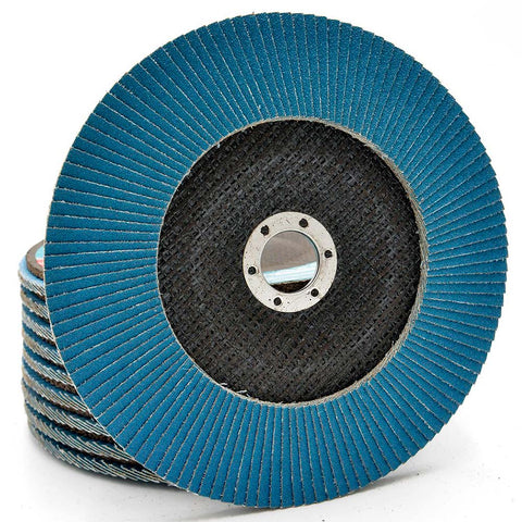 Image of NOVOABRASIVE Zirconia Flap Disc 180mm Grit 80 - pack of 10 pcs - Novotools