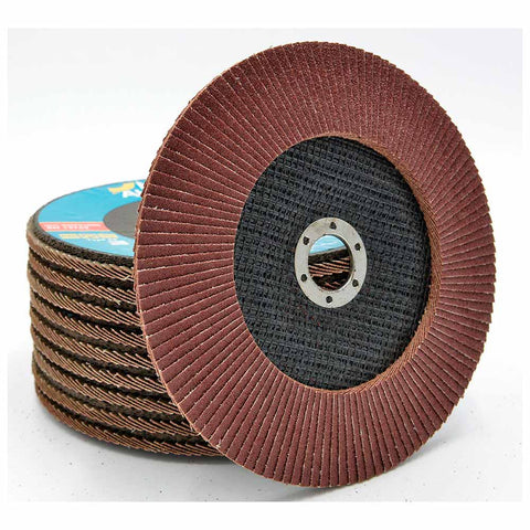 NOVOABRASIVE Flap Disc 180mm Grit 80 - pack 10 pcs - Novotools