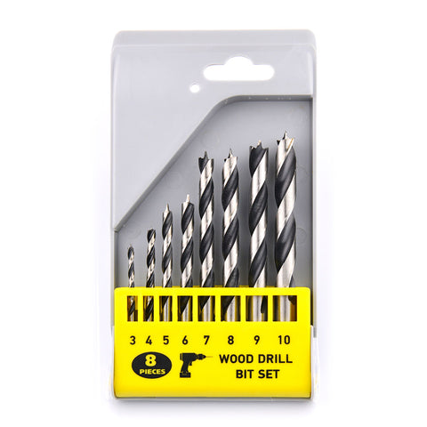 Image of NOVOTOOLS Wood Drill Bit Set (8 Pieces) - Novotools
