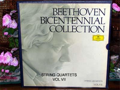 Beethoven Bicentennial Collection String Quartets Vol VII