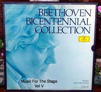 Beethoven Bicentennial Collection Music For The Stage Vol V