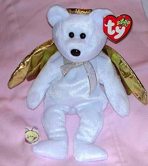 Halo II the White Angel Bear