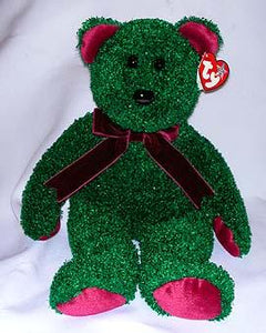 2001 Holiday Green Teddy Buddy