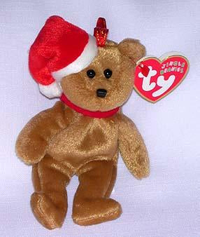 1997 Holiday Teddy Jingle Beanie