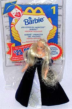 McDonald 1999 Barbie, Millennium Princess