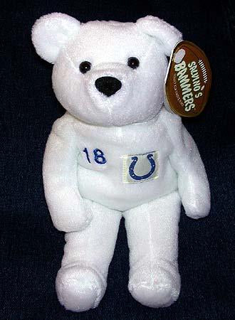 Peyton Manning #18 - Colts - Salvino Bammer Football Collection