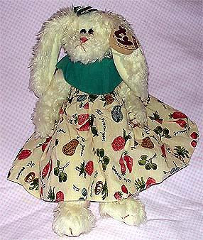 Bloom the White Rabbit with Dress - Retired