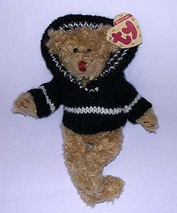Fraser the Tan Bear with Dark Blue Sweater