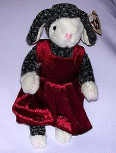 Lilly the Gray Lamb with Wine Overall