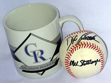 Collector's Baseball Signed by Mel Stottlemyre