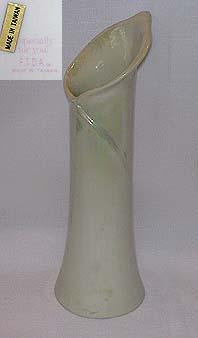 Pearlized Calalilly Shaped Flower Vase
