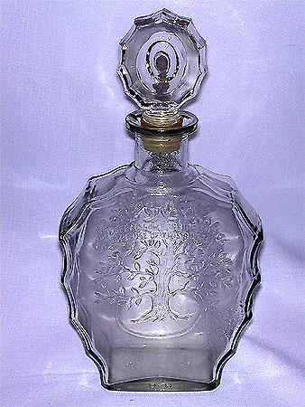 Rare Decorative Whiskey Decanter