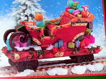 North Pole Express Christmas Ornament No 80710