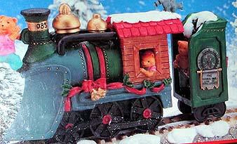North Pole Express Christmas Ornament No 80705