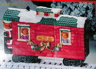 North Pole Express Christmas Ornament No 40156
