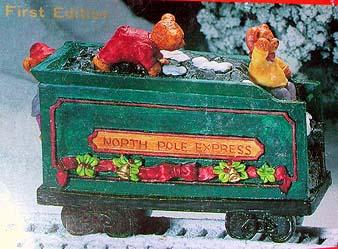 North Pole Express Christmas Picture Ornament No 40153