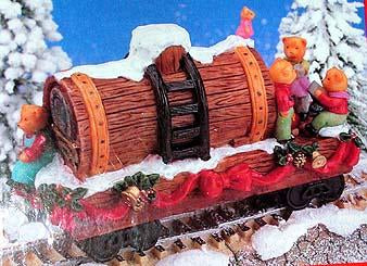 North Pole Express Christmas Ornament No 80706