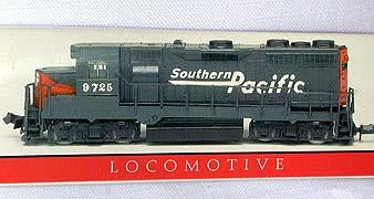 Southern Pacific Locomotive 9725