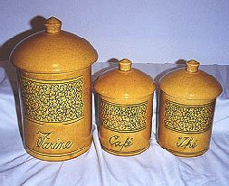 Ceramic Crock Canisters