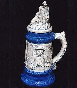Ceramic Stein with Glazed Finish
