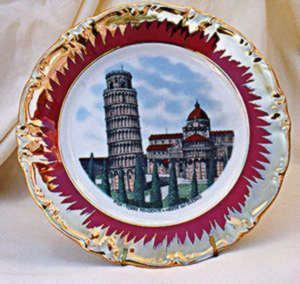 Bavarian Porcelain Chinaware Collector`s Plate