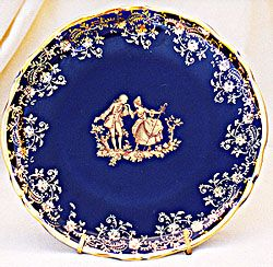 Limioges Porcelain Chinaware Collector`s Plate