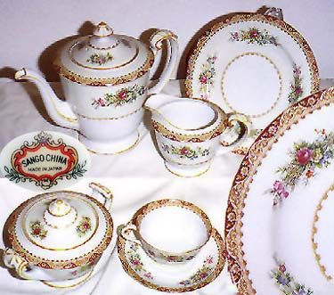 Sango Fine China Tea Set