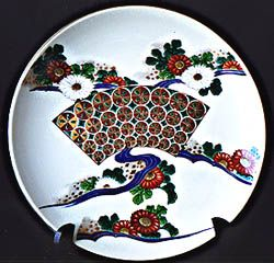 Hand Painted China Porcelain Decorative Plate