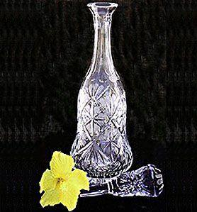 Brilliant Cut Crystal Decanter