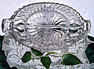 Crystal Candy / Relish Dish