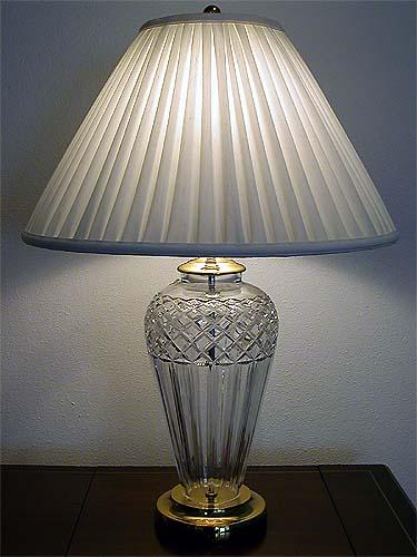 Waterford Crystal Lamp Belline