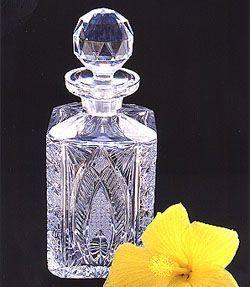 Bohemian Crystal Decanter