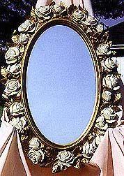Oval Mirror 27 X 19 inches