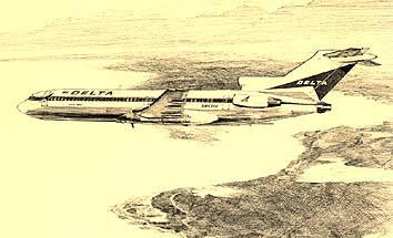 Delta Airlines A Pictorial History : Boeing 727 Tri Jet Passenger