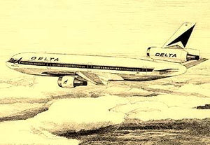 Delta Airlines A Pictorial History : DC-10 Tri Jet Passenger