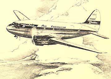 Delta Airlines A Pictorial History : Air Freighter