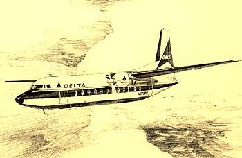 Delta Airlines A Pictorial History : Twin Engine Passenger