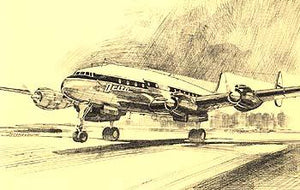 Delta Airlines A Pictorial History :  Four Engine Constellation