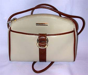 Beautiful White Dooney & Burke Genuine Leather Bag
