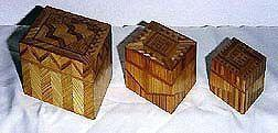 Bamboo Jewelry Boxes (Lined)