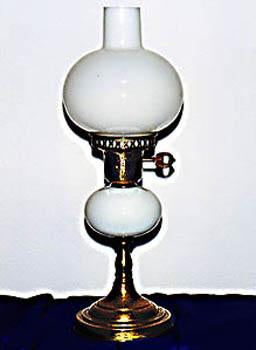 Milk White Globe Lamp