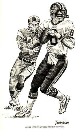 Archie Manning As A Saint